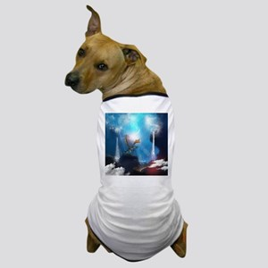 Dragon in a magical fantasy landscape Dog T-Shirt