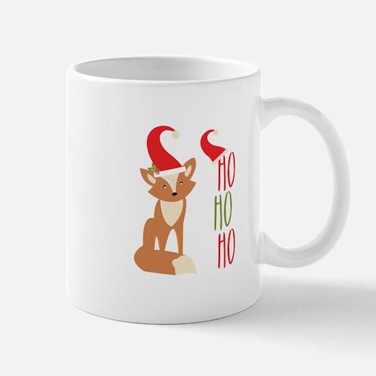 Ho Ho Ho Fox Mugs
