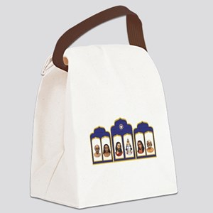 Standard Altar with 6 Gurus Canvas Lunch Bag