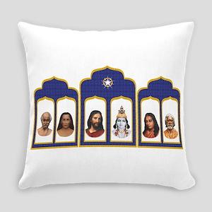 Standard Altar with 6 Gurus Everyday Pillow