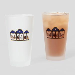 Standard Altar with 6 Gurus Drinking Glass