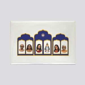 Standard Altar with 6 Gurus Magnets