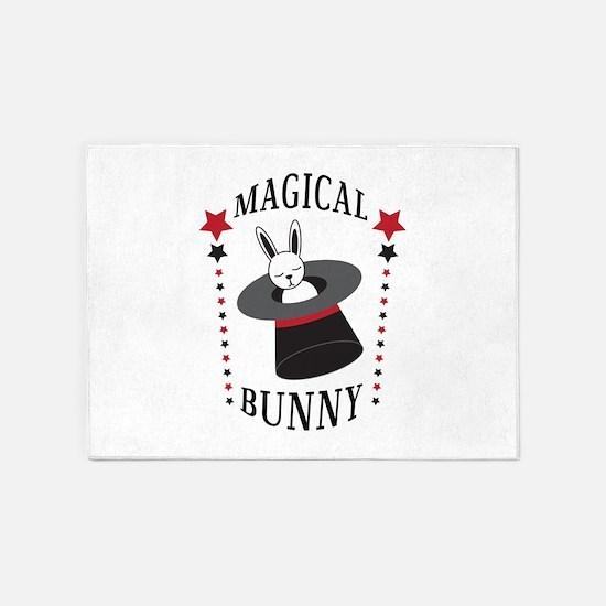 Magical Bunny 5'x7'Area Rug