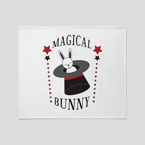Magical Bunny Throw Blanket