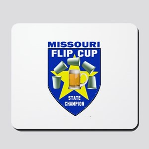 Missouri Flip Cup State Champ Mousepad