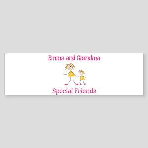 Emma & Grandma - Friends Bumper Sticker