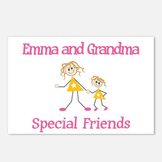 Emma & Grandma - Friends Postcards (Package of 8)