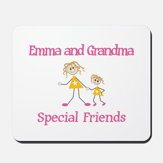 Emma & Grandma - Friends Mousepad