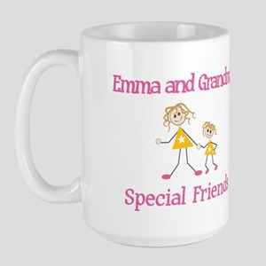 Emma & Grandma - Friends Large Mug
