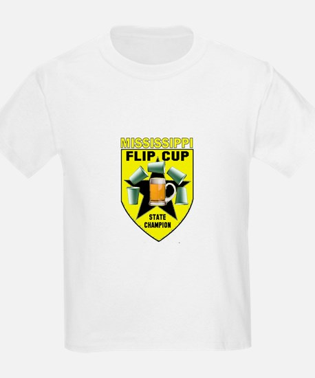 Mississippi Flip Cup State Ch T-Shirt