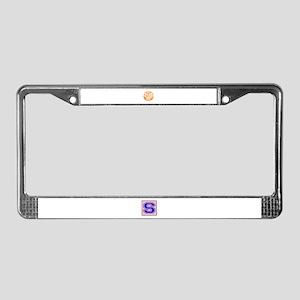 Made in 2014, All original par License Plate Frame