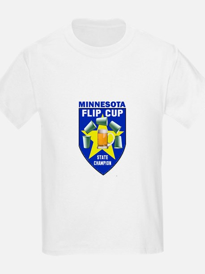 Minnesota Flip Cup State Cham T-Shirt