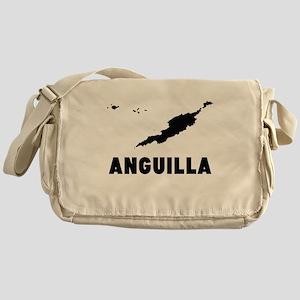 Anguilla Silhouette Messenger Bag