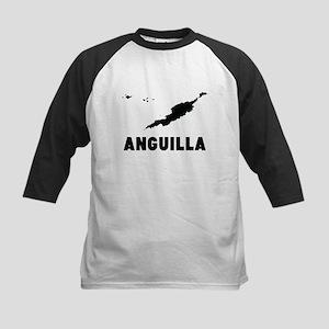 Anguilla Silhouette Baseball Jersey