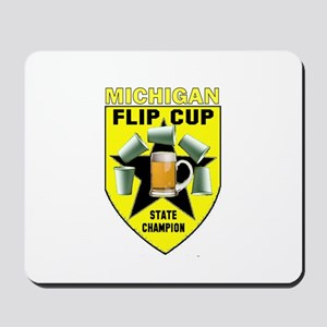 Michigan Flip Cup State Champ Mousepad