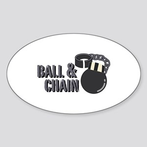 Ball & Chain Sticker