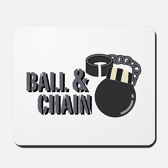 Ball & Chain Mousepad
