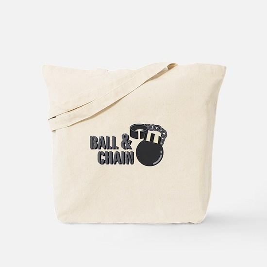 Ball & Chain Tote Bag