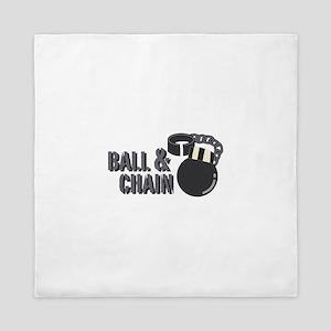 Ball & Chain Queen Duvet