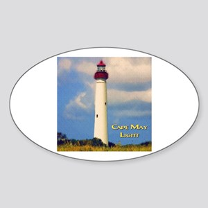 Cape May Light Watercolor Sticker