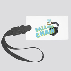 Ball And Chain Luggage Tag