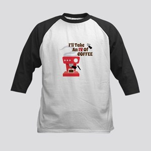 IV Of Coffee Baseball Jersey