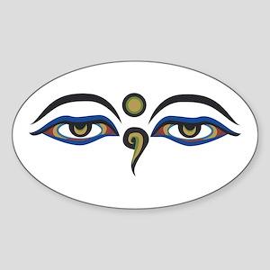 Eyes Of Buddha Sticker