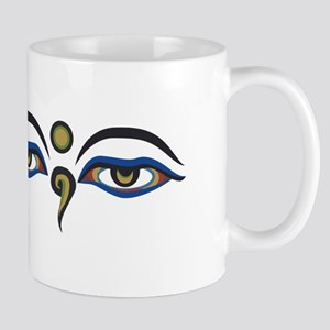 Eyes Of Buddha Mugs