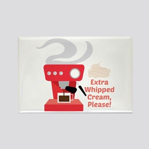 Extra Whipped Cream Magnets