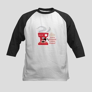 Extra Whipped Cream Baseball Jersey