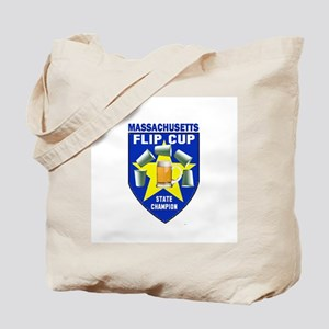 Massachusetts Flip Cup State Tote Bag