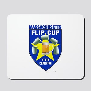 Massachusetts Flip Cup State Mousepad
