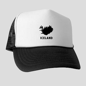 Iceland Silhouette Trucker Hat