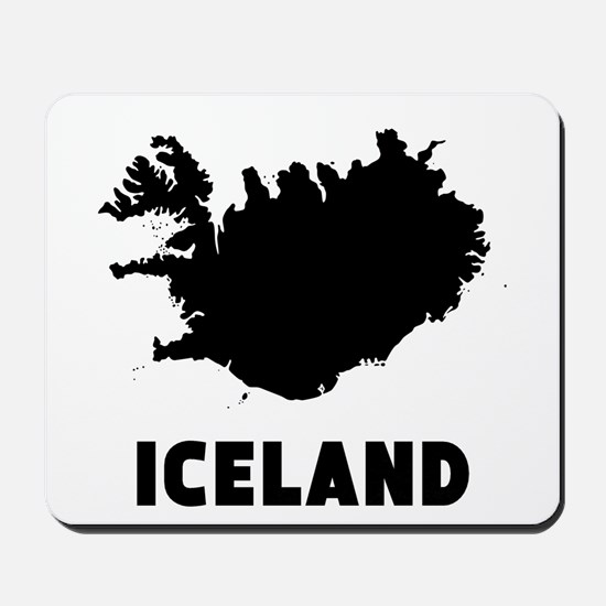 Iceland Silhouette Mousepad