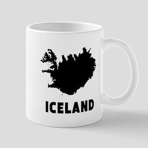 Iceland Silhouette Mugs