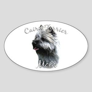 Cairn Mom2 Oval Sticker