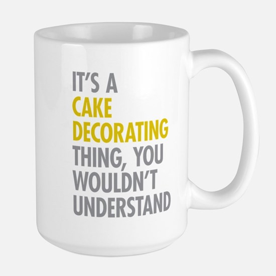 Cake Decorating Mugs