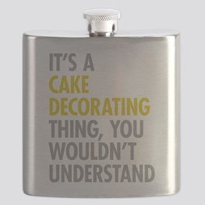 Cake Decorating Flask