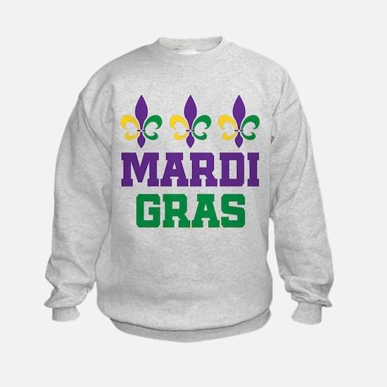 Cute Mardi gras Sweatshirt
