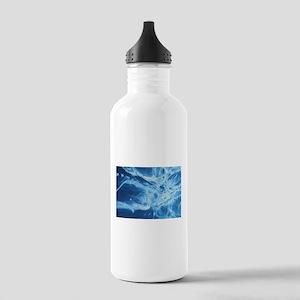 blue art Stainless Water Bottle 1.0L