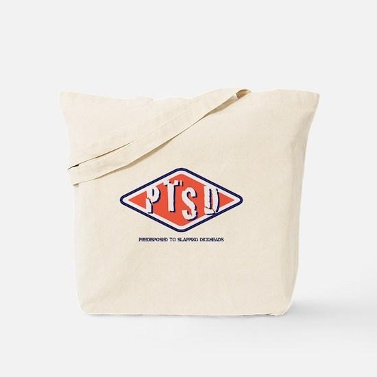 PTSD Emblem Tote Bag