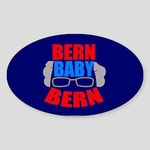 Bern Baby Bernie Sanders Sticker (Oval)