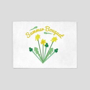 Summer Bouquet 5'x7'Area Rug