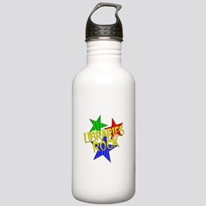 Libraries Rock Stainless Water Bottle 1.0L