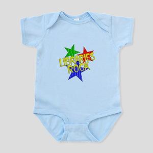Libraries Rock Infant Bodysuit