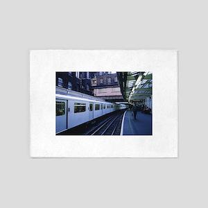train 5'x7'Area Rug