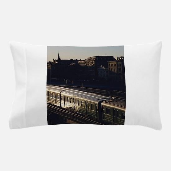 subway train Pillow Case