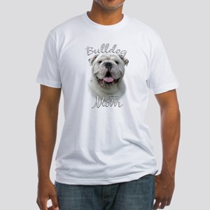 Bulldog Mom2 Fitted T-Shirt