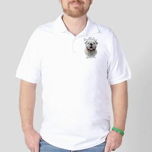 Bulldog Mom2 Golf Shirt