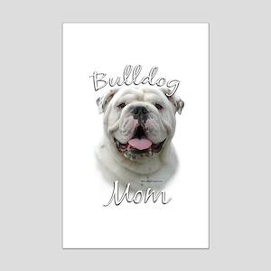 Bulldog Mom2 Mini Poster Print